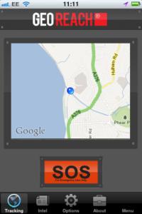 GeoReach iOS app
